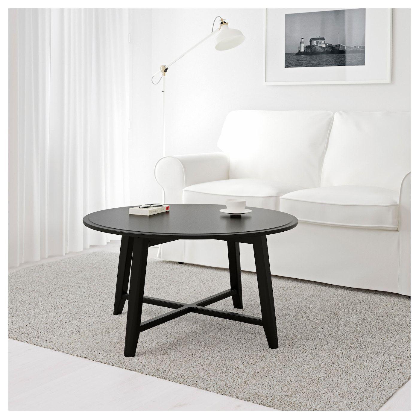 Https Www Ikea Com No No P Kragsta Bord Svart 80262253 Ikea Kaffebord Stuebord Bordben [ 1400 x 1400 Pixel ]