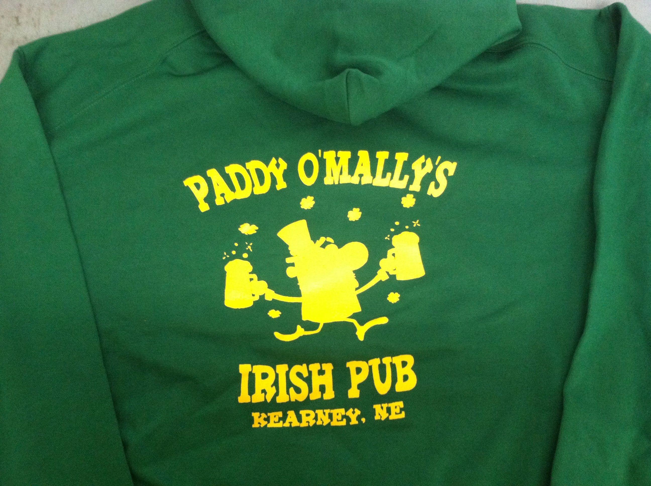 Shirt hoodie design - Paddy O Mallys Hoodie Design Kearney Nebraska Shirt Shack