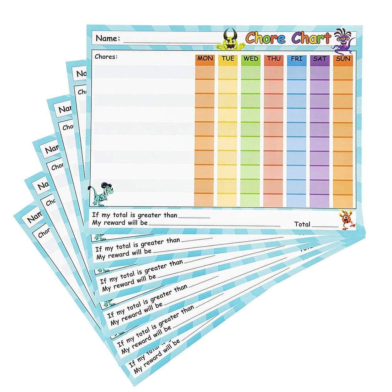 Amazon Chore Chart
