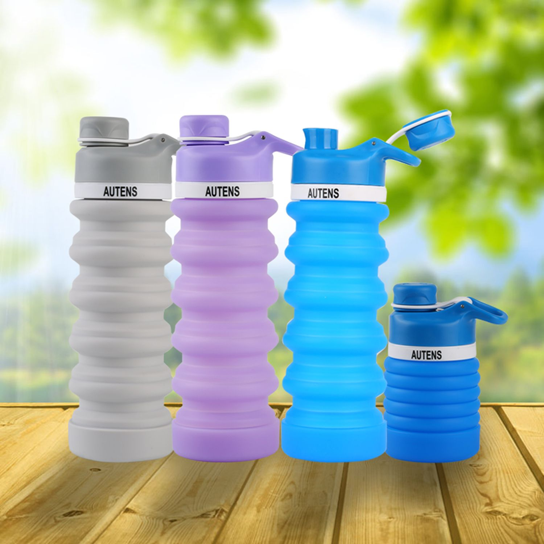 e555b9405ad2 2019 的 Collapsible Water Bottle 550ml, Leak Proof, BPA Free, FDA ...