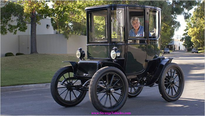 Old Buggy Original Baker Electric Car Jay Leno Collection