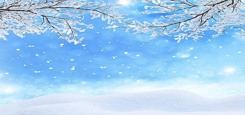 Romantic Spot Snowflake Winter Background Winter desktop