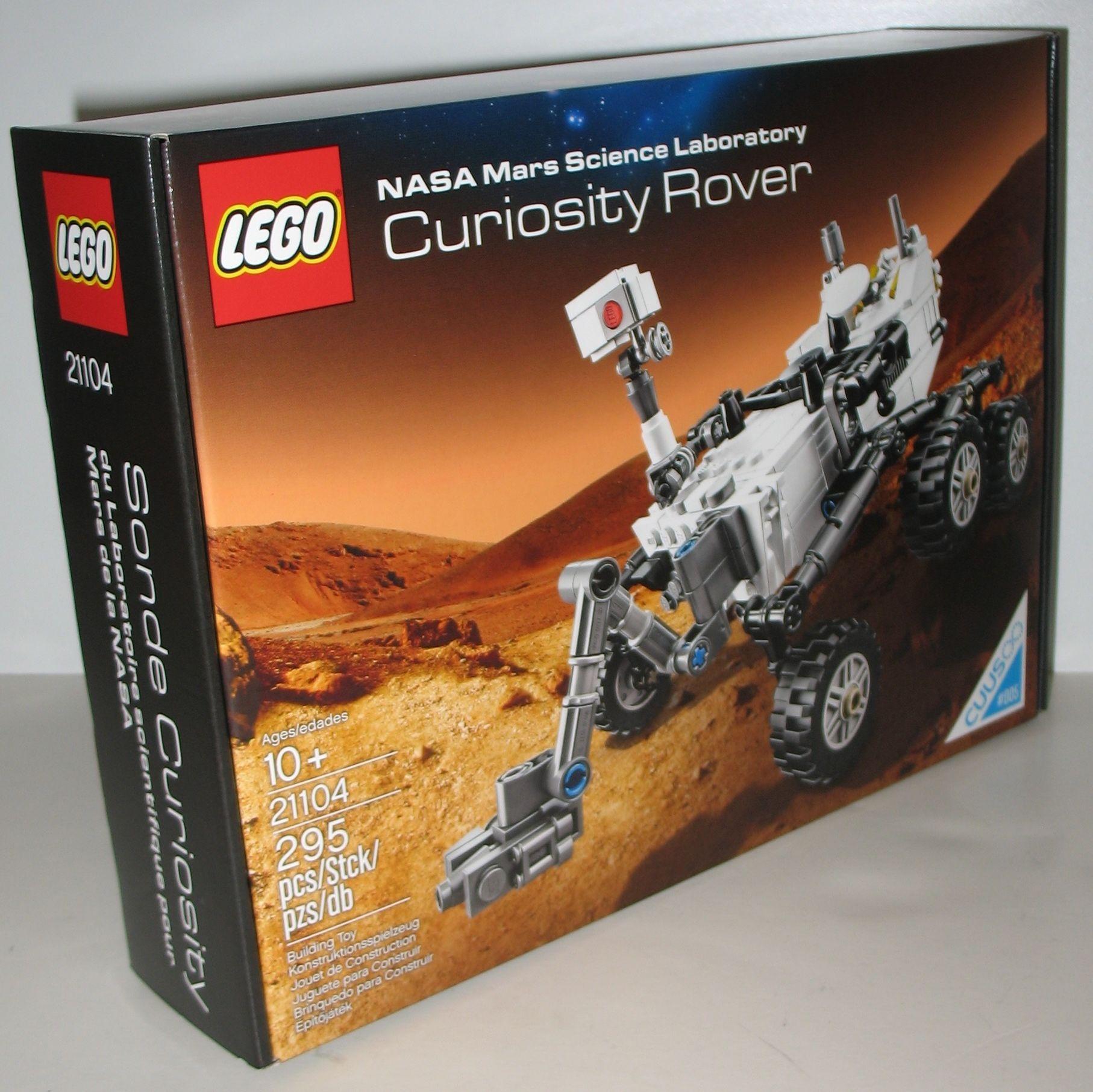 LEGO CUUSOO Nasa Mars Science Laboratory Curiosity Rover 21104. #lego #cuusoo #ck