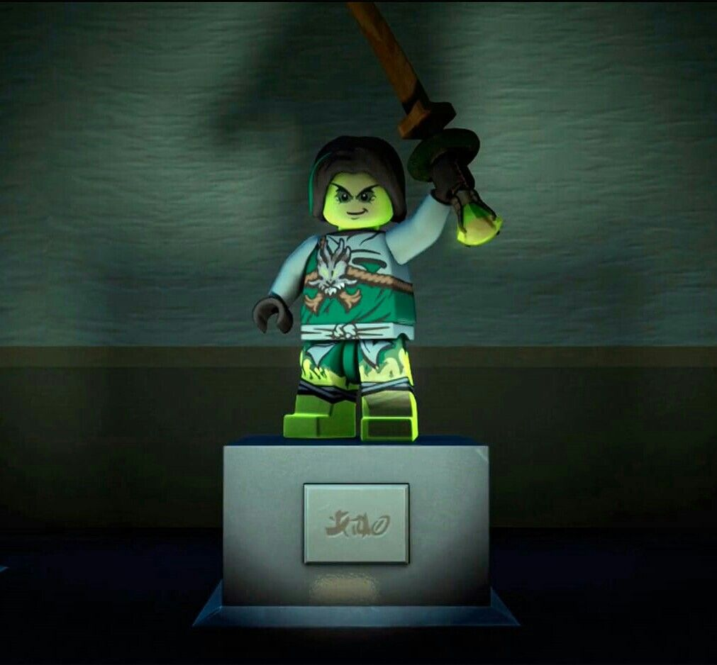 Morro S Statue In The Museum He Was The Only One Who Had Accepted His Fate Now He Is At Peace Lego Ninjago Ninjago Ninjago Spinjitzu