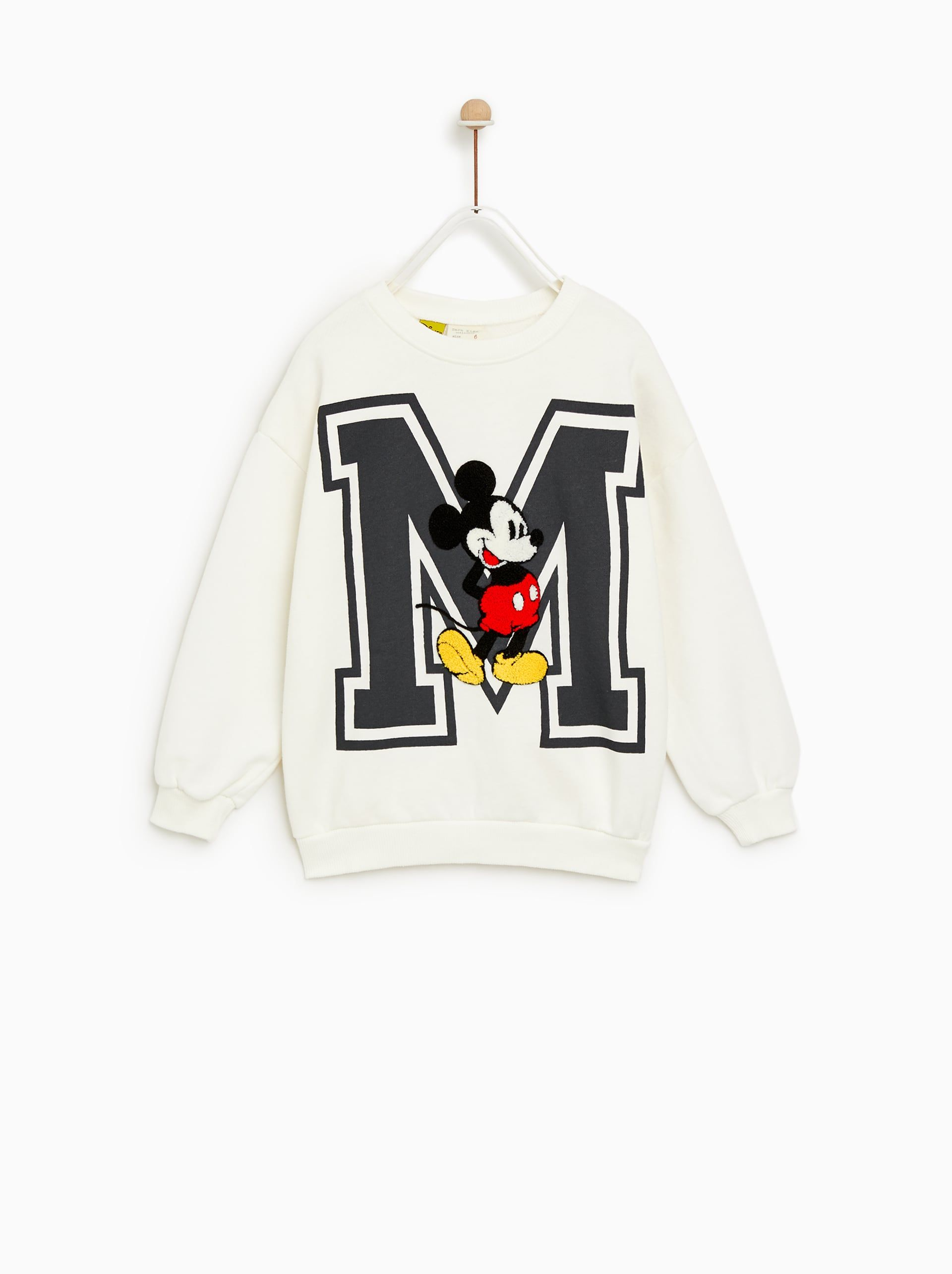 a2d2cbfa Image 1 of MICKEY MOUSE® SWEATSHIRT from Zara | Chilly clothes in ...