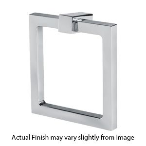 Attrayant Square Ring Cabinet Pull   Brass, Bronze, Chrome And Nickel Finishes.