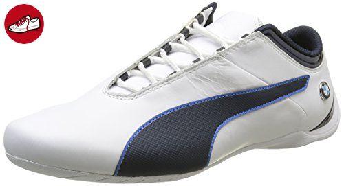 BMW Ms Future Cat, Sneakers Basses Mixte Adulte, Blanc (White-Team Blue), 40 EUPuma
