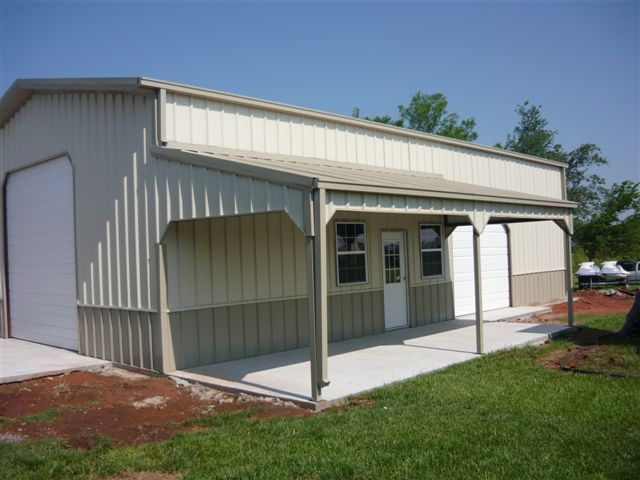 Mettalic sheds metal buildings services home for Metal building shop house