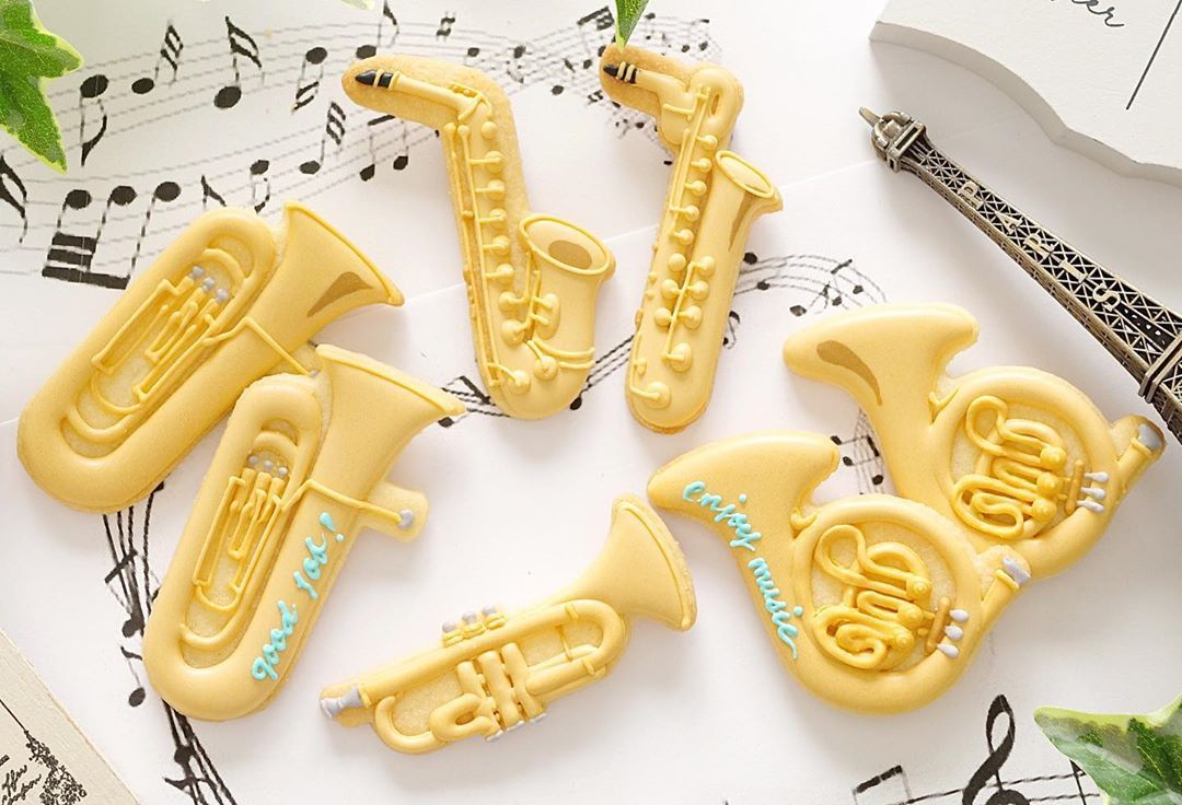 Re-ment Size Instruments Jazz Miniature Collection Full Set of 5