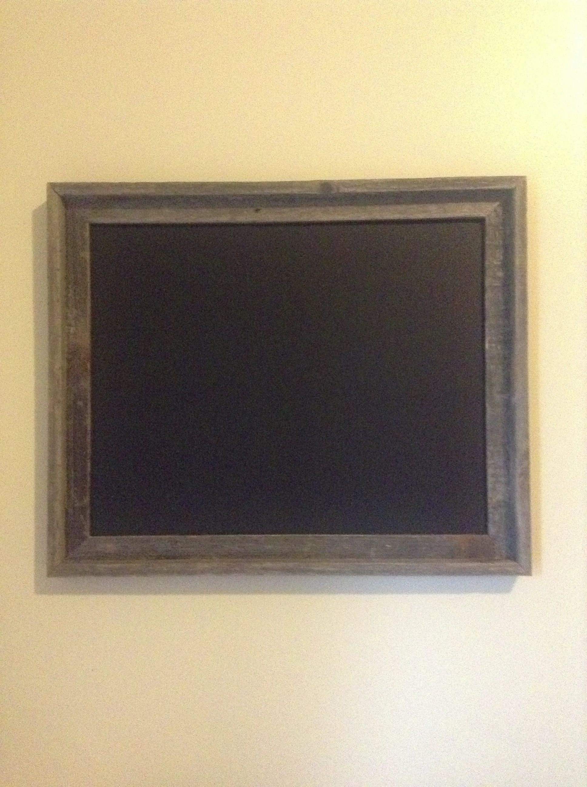 Easy Diy Chalkboard Frame Hobby Lobby Pressboard Painted With Chalkboard Paint It S Really That Easy Diy Chalkboard Easy Diy Chalkboard Paint