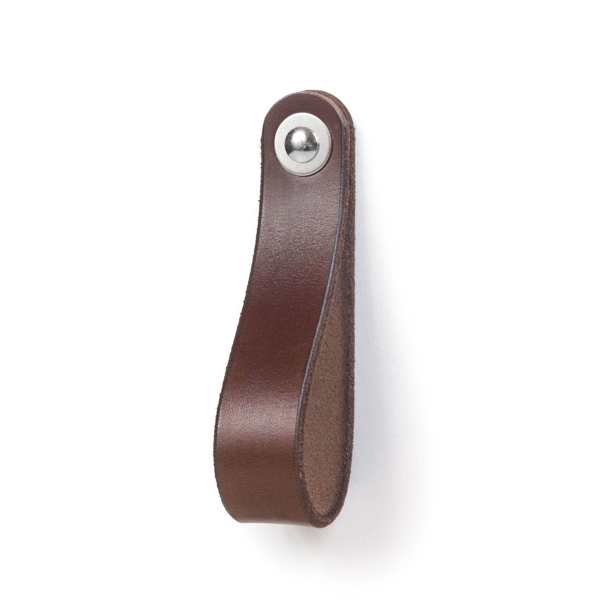 Leather Drawer Pull - The Hawthorne (Large)