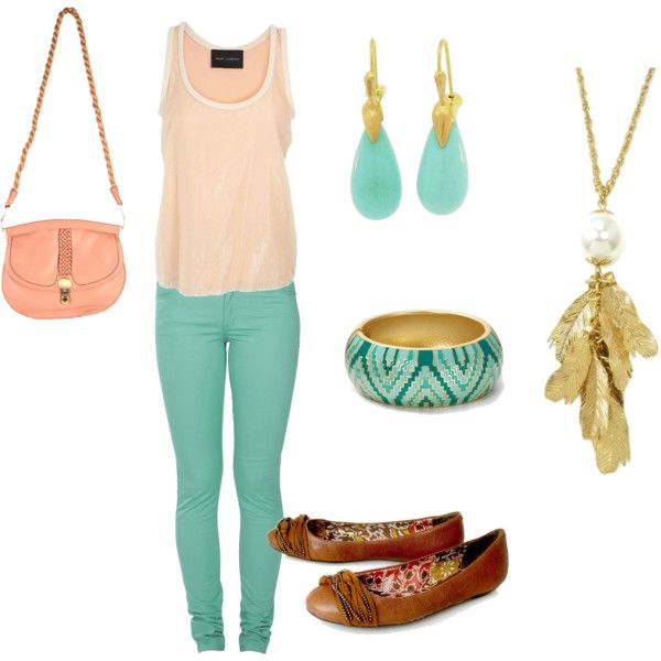 mint green, created by vegan-fashionista on Polyvore