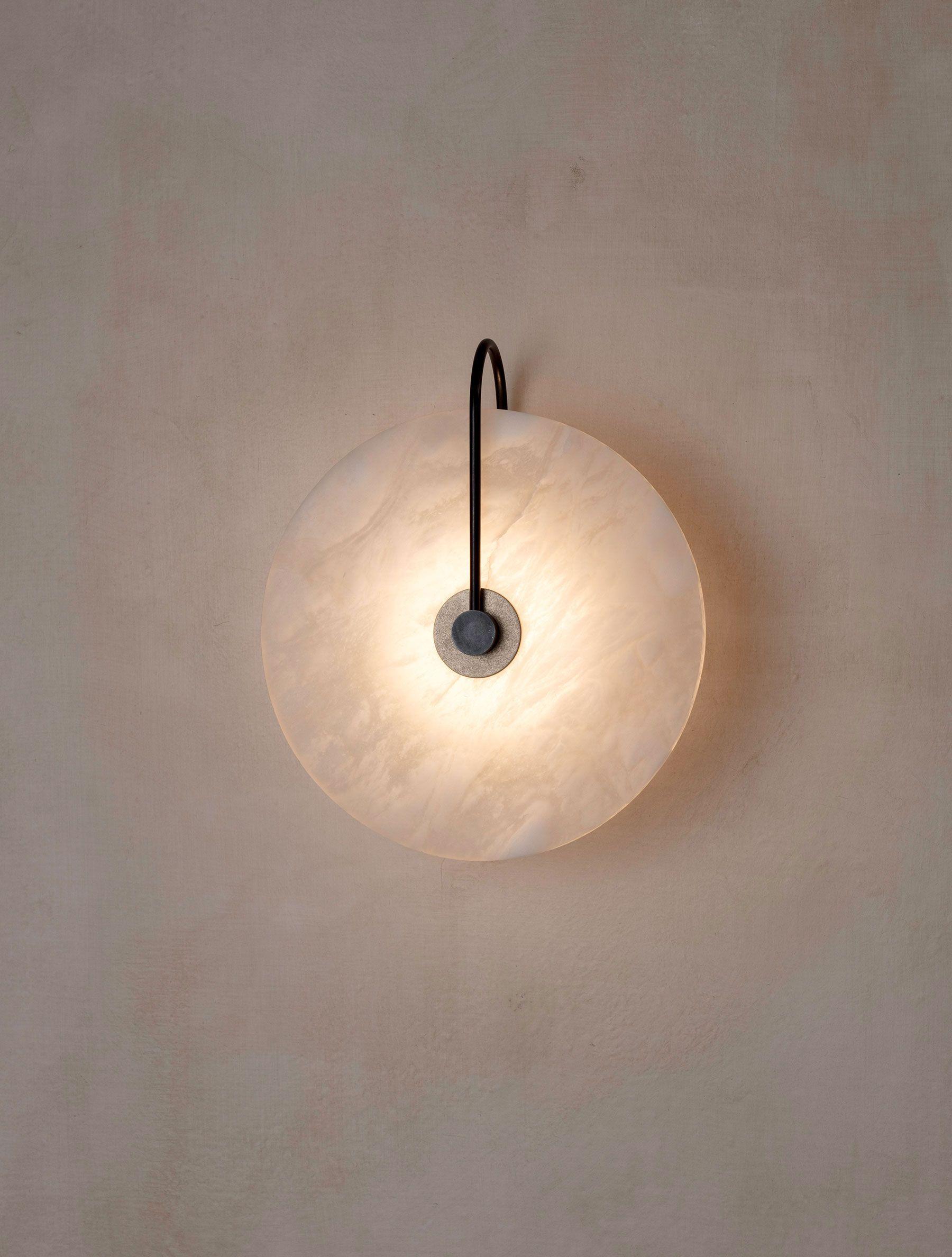 Ada Alabaster Sconce 10 Indoor Wall Sconces Indoor Wall Lights Contemporary Lighting Design