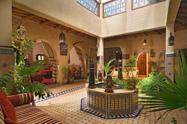Exotic Moroccan Patios