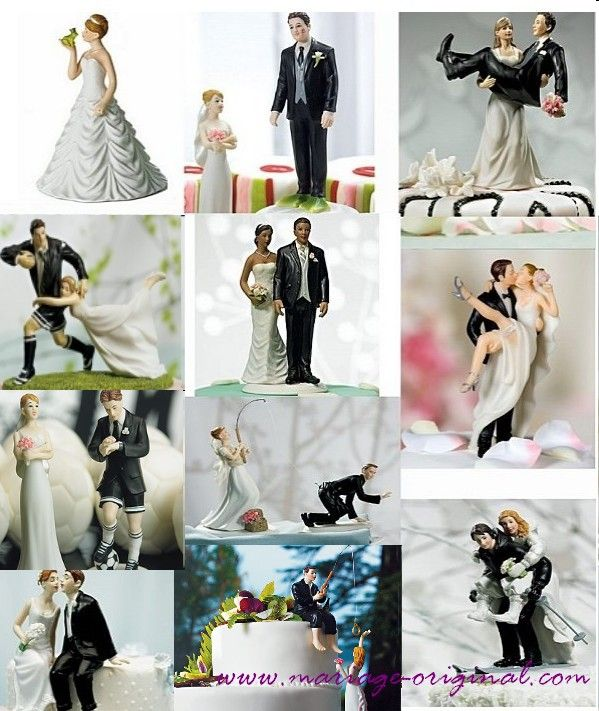 deco gateau figurine