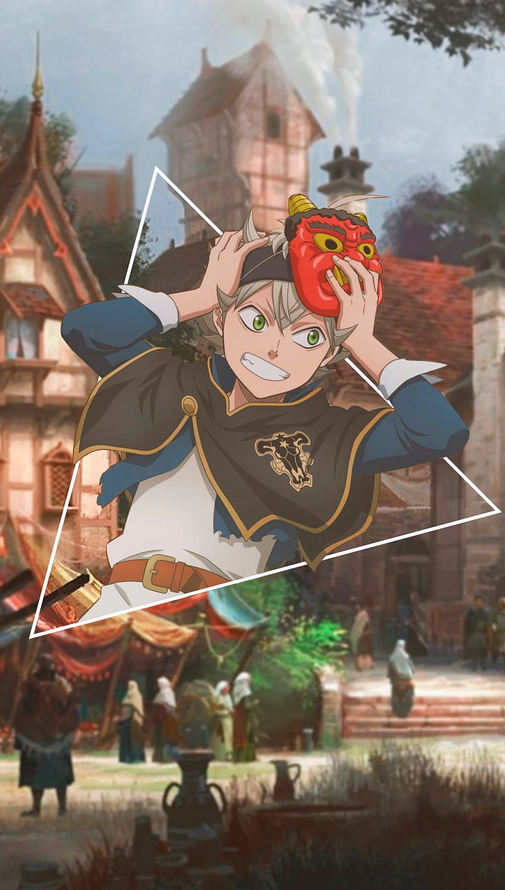 Anime Anime Girls Picture In Picture Black Clover Representation Hd Wallpaper Black Clover Manga Black Cat Anime Black Clover Anime