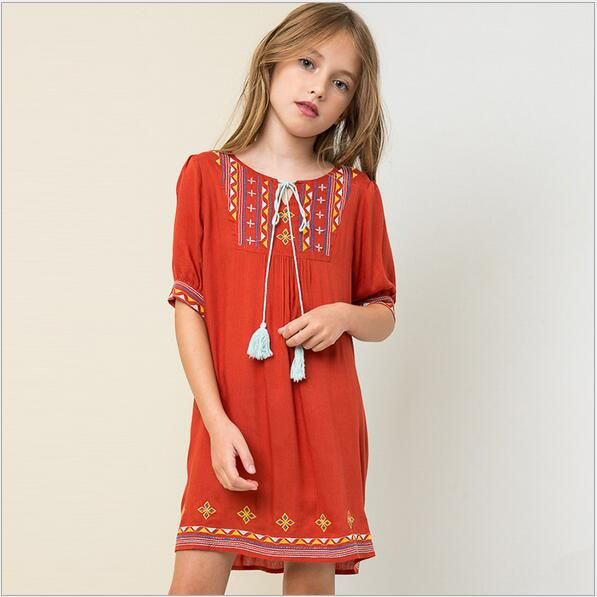 http://babyclothes.fashiongarments.biz/ New Junior Embroidered Floral Tassel Dresses Teenager Fashion Nation Dress 2016 Big Kids Girls bebe Autumn Christmas Clothes, http://babyclothes.fashiongarments.biz/products/new-junior-embroidered-floral-tassel-dresses-teenager-fashion-nation-dress-2016-big-kids-girls-bebe-autumn-christmas-clothes/, Products:2016 Baby girls floral tasseldress Material:cotton MOQ:4pcs/lot Sizes:7-8 9-10 11-12 13-14=2-7years ( the ages is just for reference