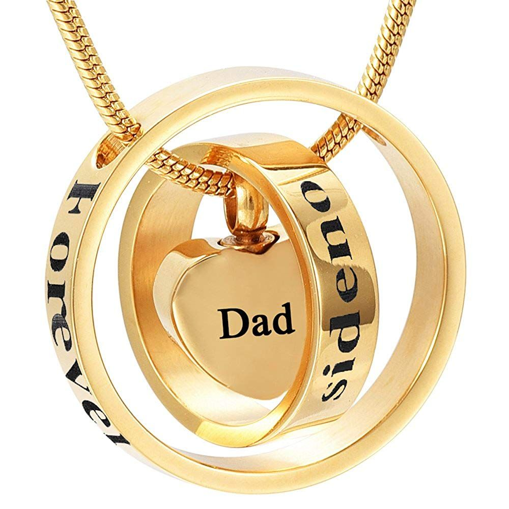 Memorial Jewelry Gold Cremation Jewelry My Mom My Dad My Son My Sister My Friend Urn Necklace Circle L Gold Cremation Jewelry Memorial Jewelry Keepsake Jewelry