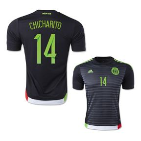 adidas Mexico Chicharito  14 Soccer Jersey (Home 2015 16)  01c048c62