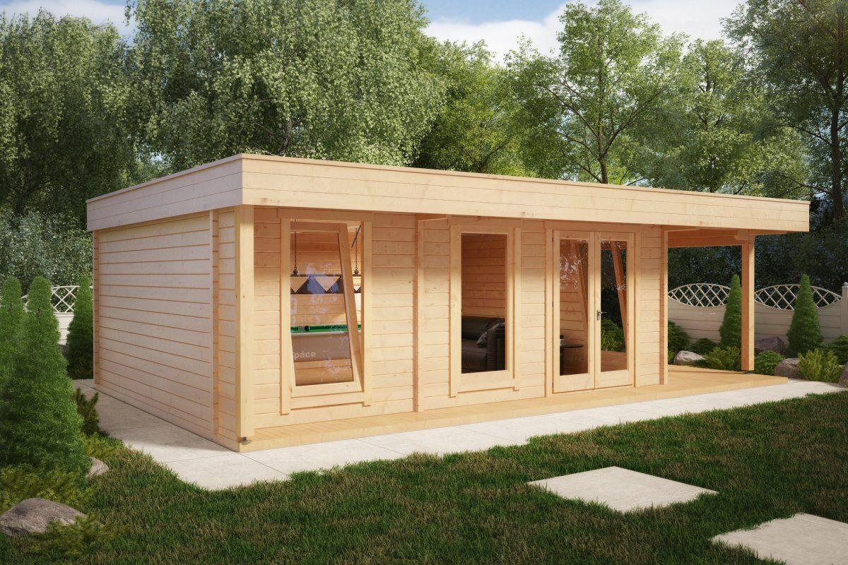 Superb Hansa Lounge XXL Billard Edition 24m2 / 50mm / 5x8 | Gartenhäuser,  Gartenhäuser Aus Holz Und Gartenhütte