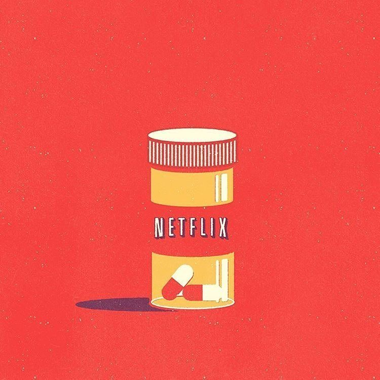 Netflix and Pills Mike Stefanini Netflix, Papeis de