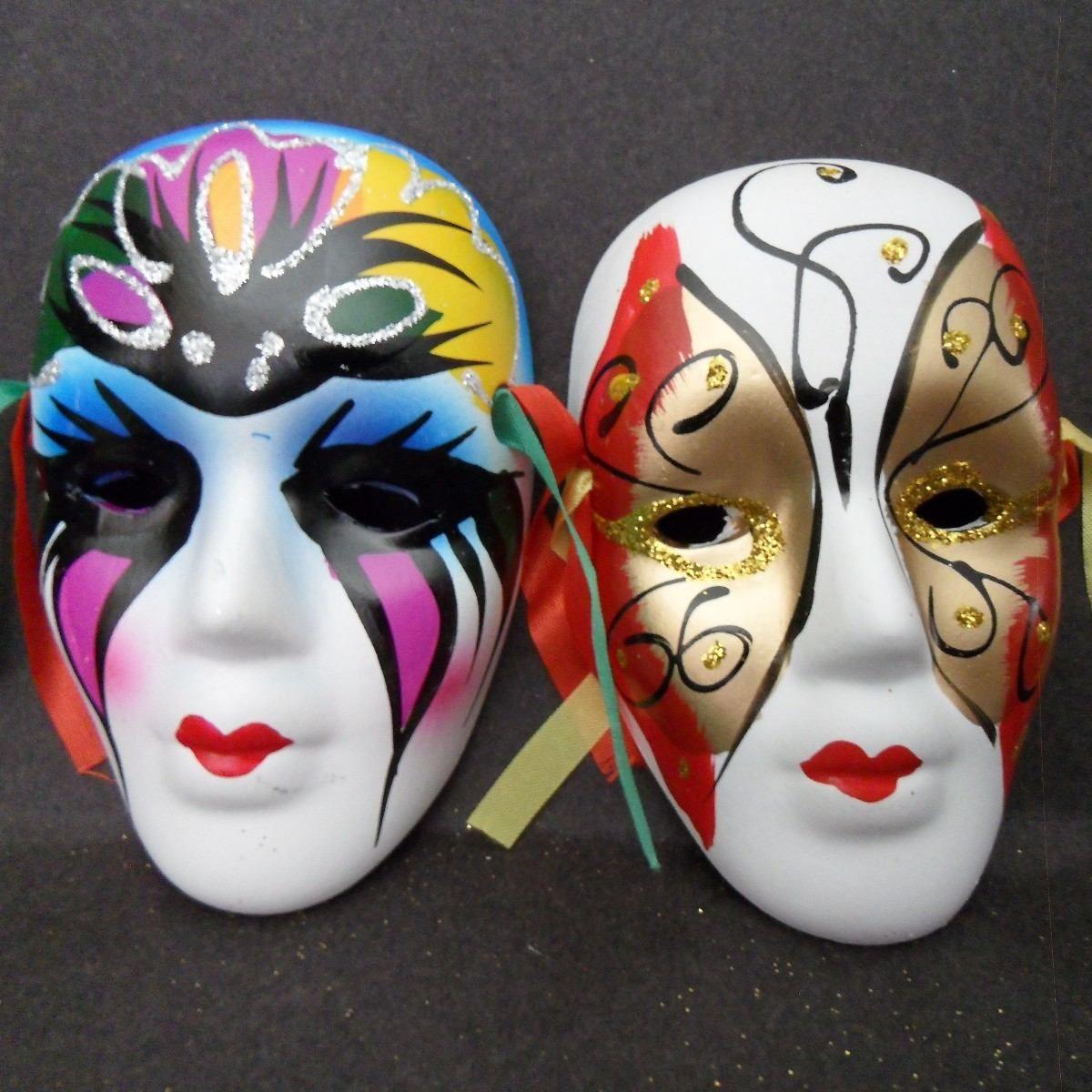 Hermosas Mascaras Decorativas Un Set De 6 Mascaras Medianas