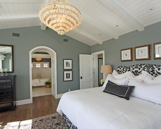 blue gray bedroom | Light Blue Grey Bedroom | Master Bedrooms ...