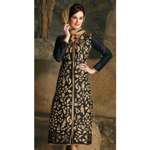 Awesome lovely personality with wonderful stylist embroidery designer salwar suit - Online Shopping for Salwar Suit by Viva N Diva