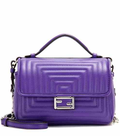 f8ac22bffc6e Double Micro Baguette leather shoulder bag