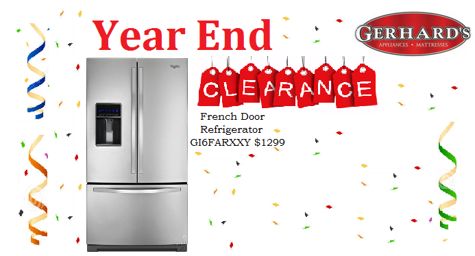 Shop Gerhard S Appliances Year End Clearance For Great Deals