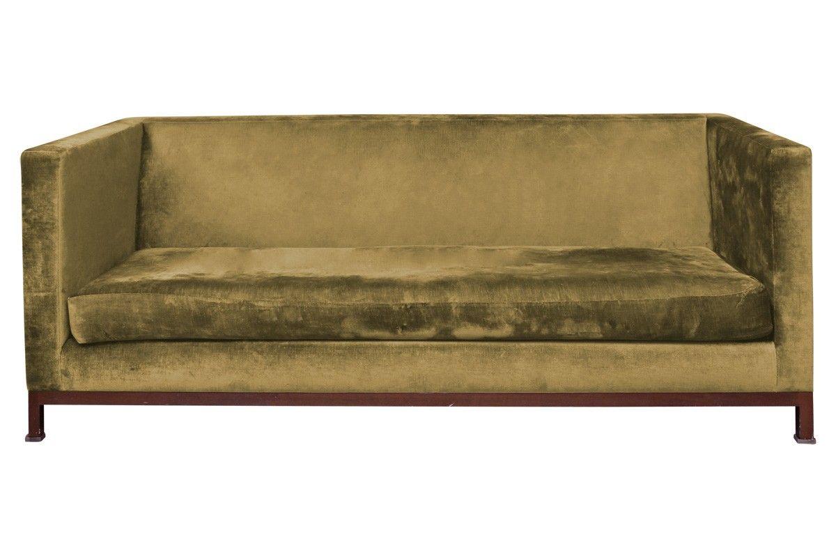 Viyet | Luxury Furniture Consignment - Seating - Custom Velvet Sofa