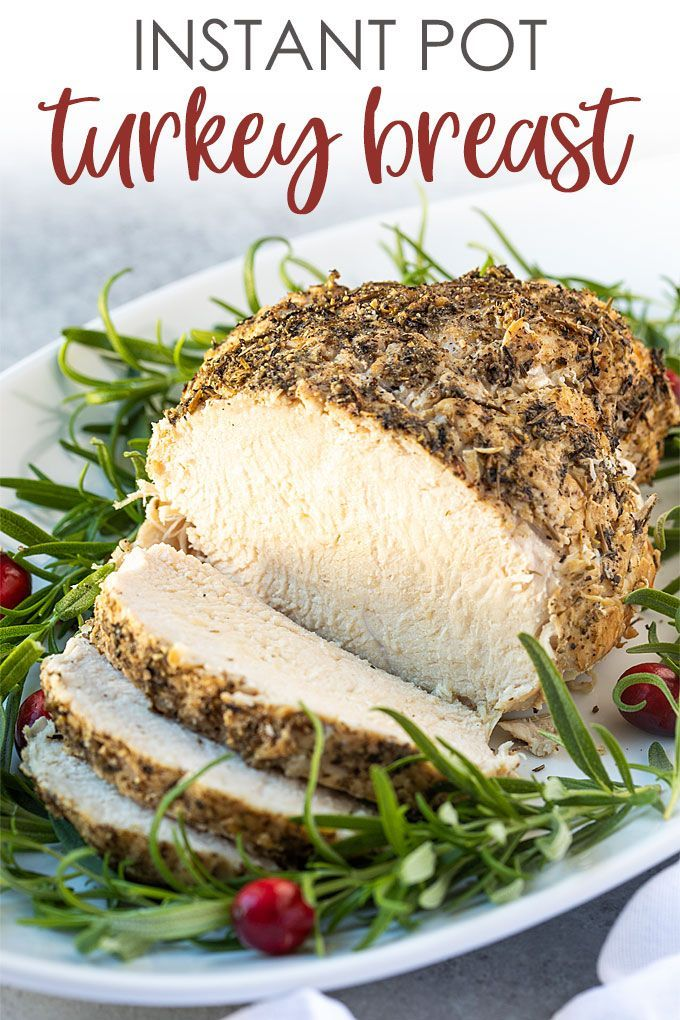 Photo of Instant Pot Frozen Turkey Breast   The Blond Cook