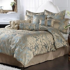 Highgate Manor Sienna 10 Piece Comforter Set At Hsn Com Master Bedroom Comforter Sets Home Comforters