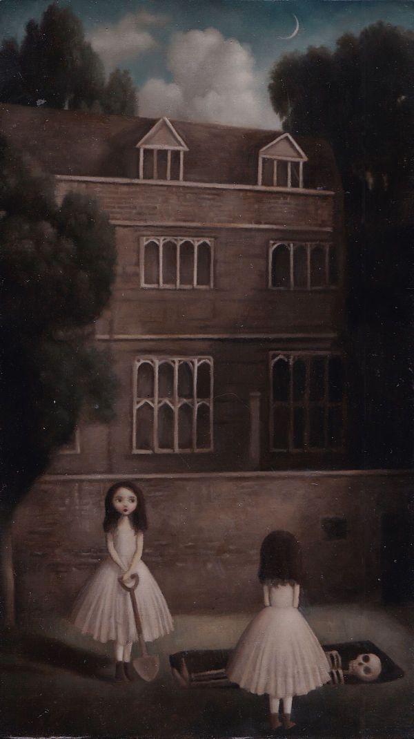 Under The Orchard Surreal Art Horror Art Dark Art Illustrations