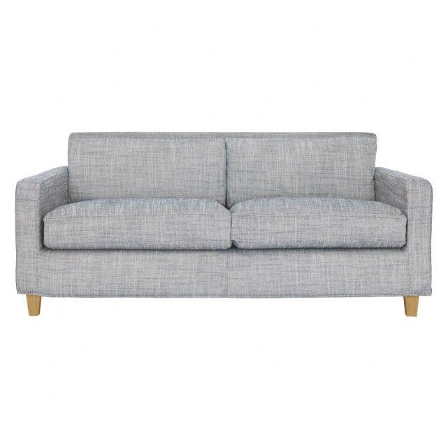 Chester Black White Italian Woven Fabric 3 Seater Sofa 3 Seater Sofa Sofa Seater Sofa