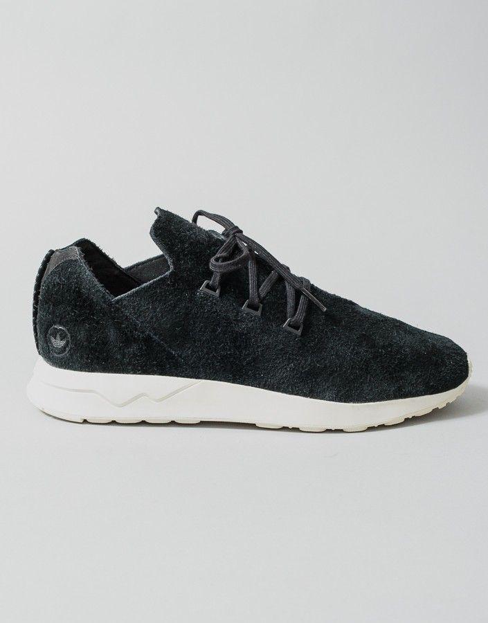 new style d8679 93c3c WHxADI+ZX+Flux+X+Sneaker+-+Black. Flujo ZxCuernosZapatillasAdidasAlas