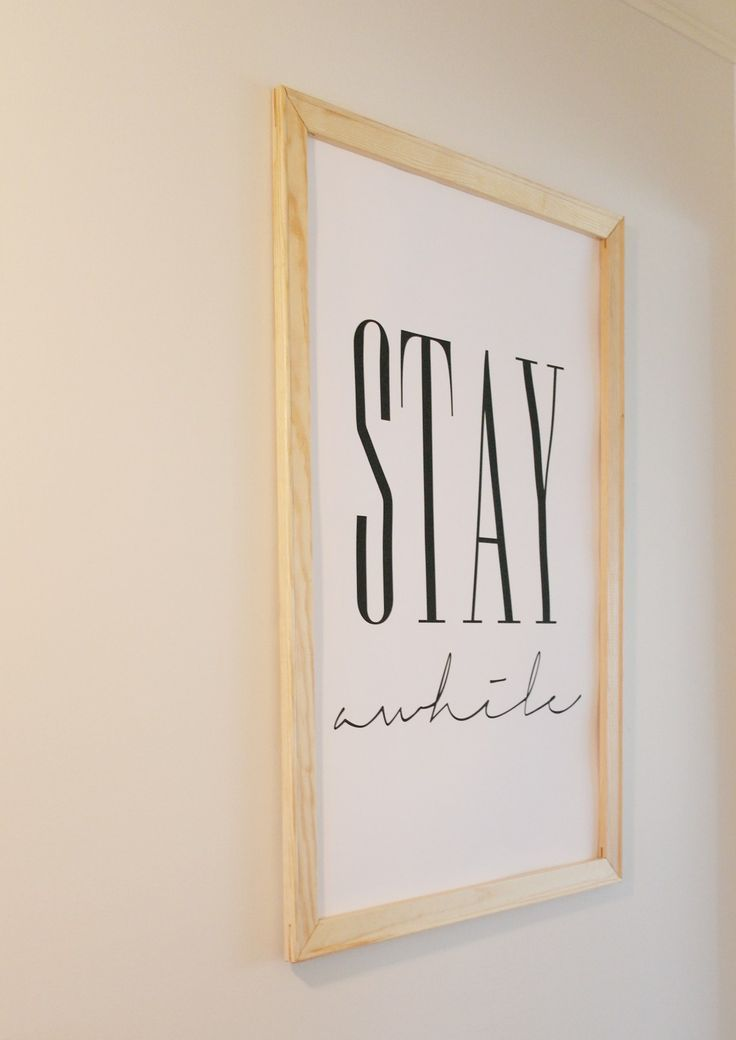 DIY Framed Poster | Diy poster frame, Diy frame, Framed ...