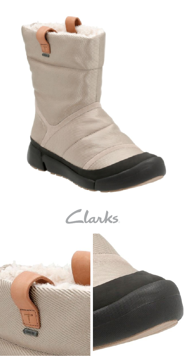 Clarks Aspen GTX waterproof boots are