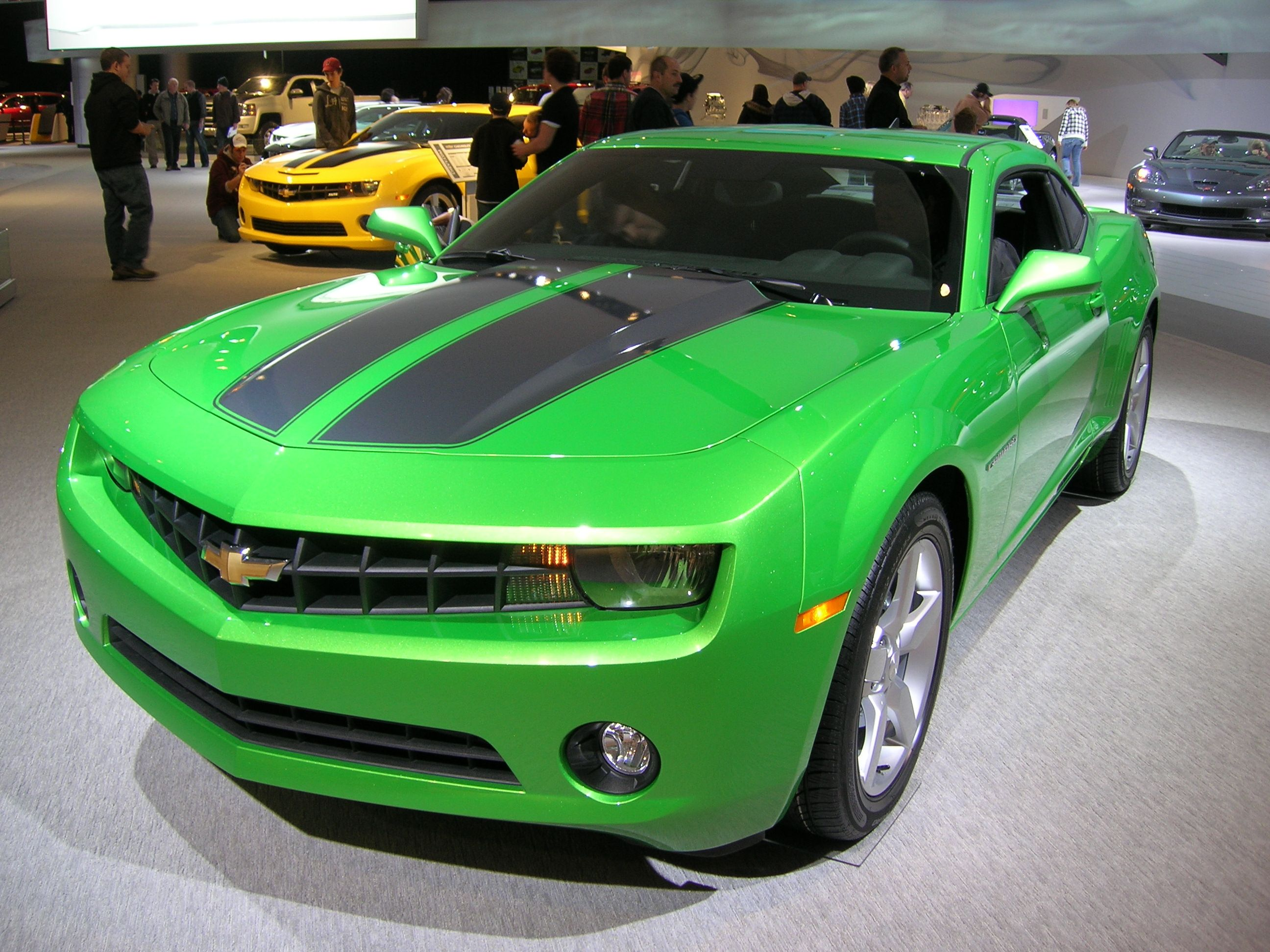 2011 synergy green camaro vroom vroom Pinterest