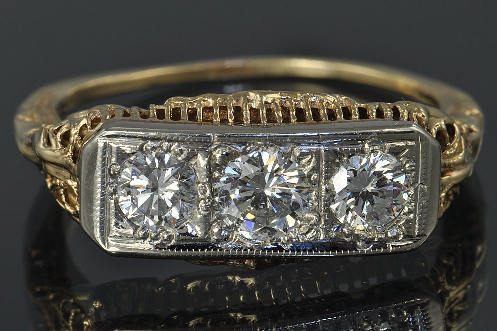 .70 Carat Diamond Vintage Wedding / Engagement Ring