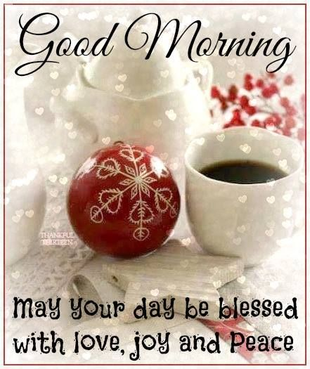 Good Morning May Your Day Be Blessed Christmas Quote good morning ...