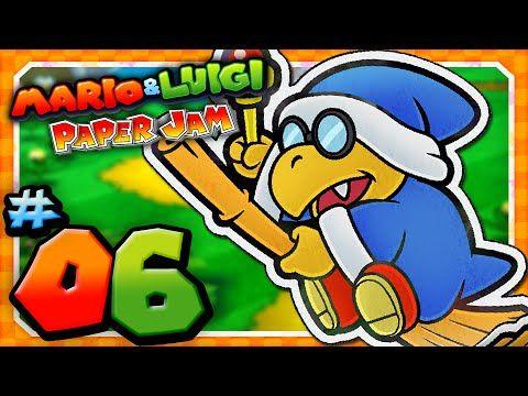 Mario And Luigi Paper Jam Part 6 Paper Toad Hide And