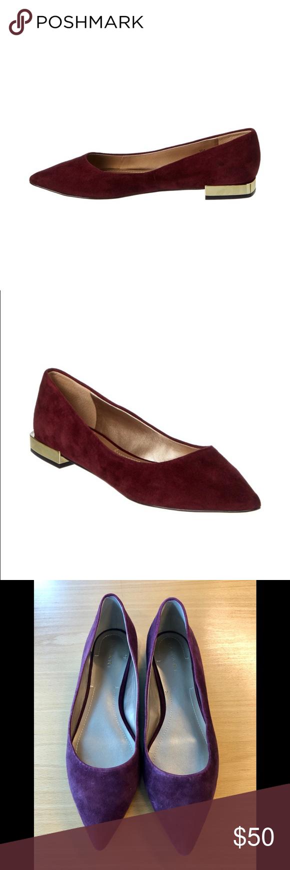 b3de4f0664f Tahari Pointed Toe Eda Flats, 8.5 | My Posh Closet | Fashion flats ...