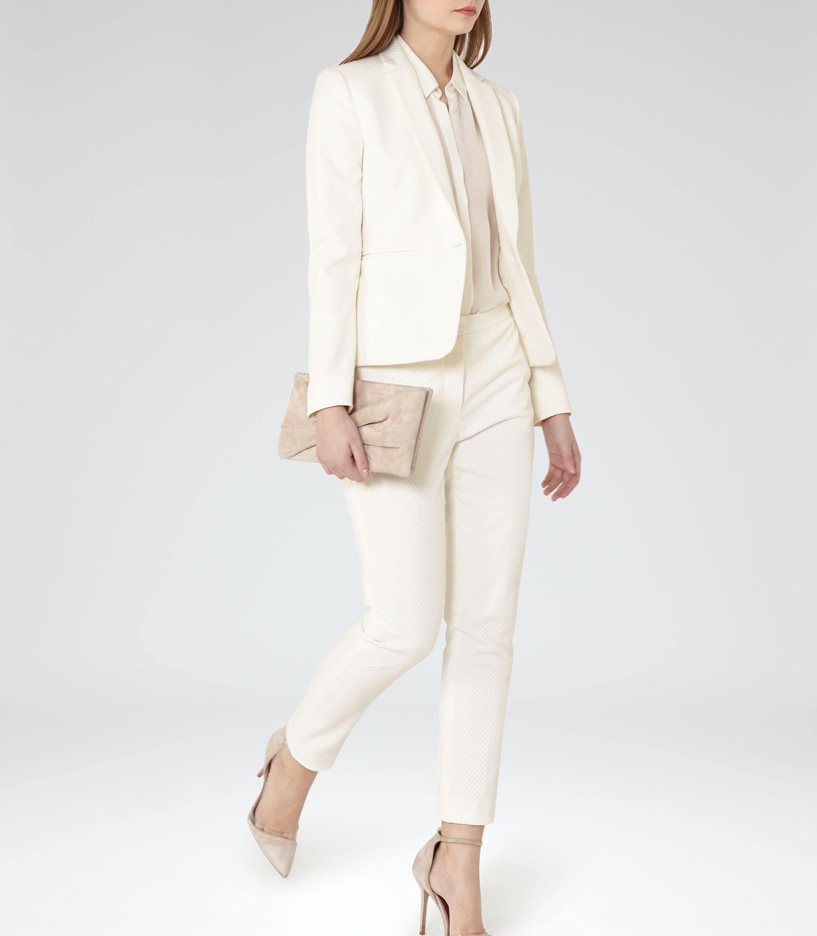 Ryder Black Wide Brim Hat - REISS | Blazers, White blazers and Ps