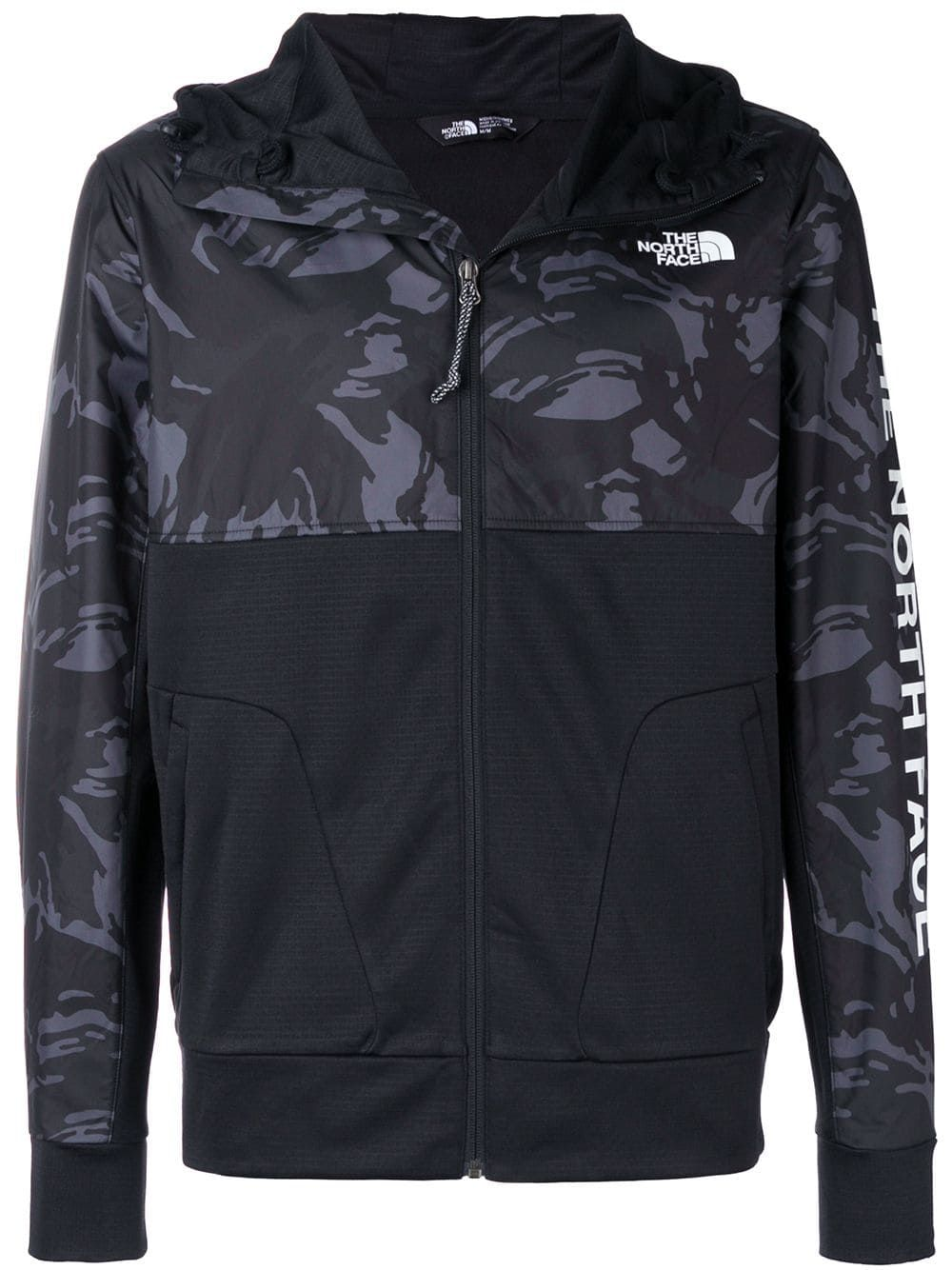 THE NORTH FACE THE NORTH FACE TRAIN N LOGO OVERLAY JACKET - BLACK.   thenorthface  cloth e3ecd7b387f