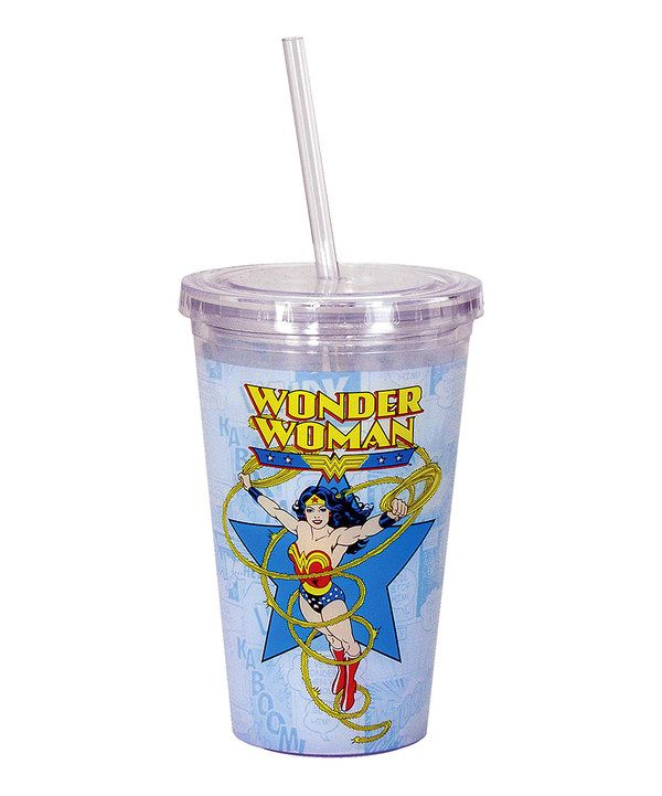 Look at this Wonder Woman 16-Oz. Tumbler on #zulily today!