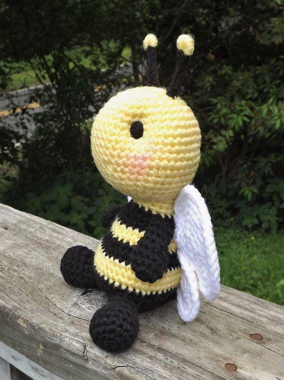 Baby Bumblebee Amigurumi Crochet Pattern Pdf File Only Doll Baba