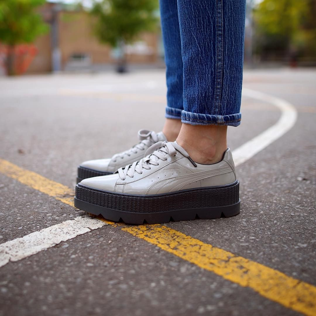 super cute bd3b0 75b8a Rihanna x PUMA Pointy Creeper