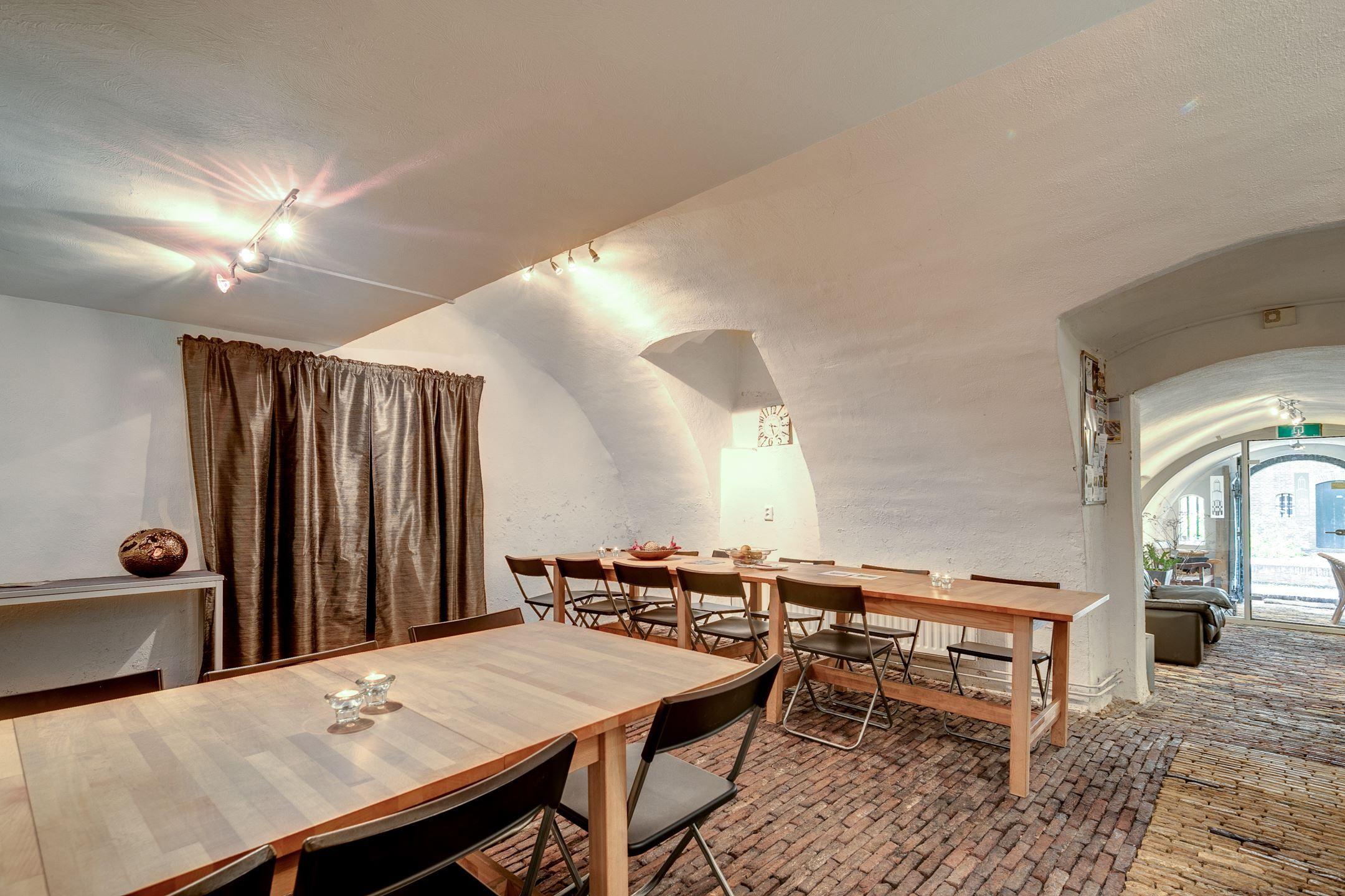 Onder De Kelders : Een kelder onder het huis en onder de straat van nieuwegracht 36 te
