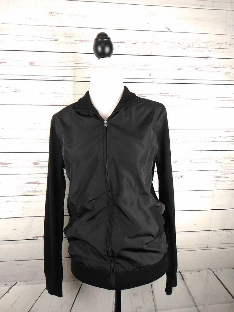 03bf5501ac Michael Kors Men's Small Full Zip Wool Blend Cardigan Sweater Jacket ...